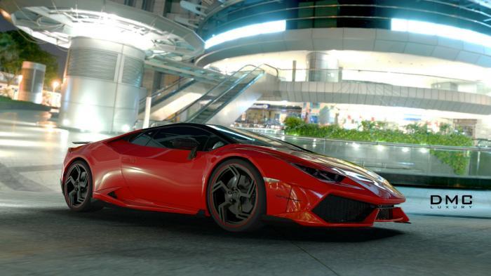 DMC Lamborghini Huracan Affari Unveiled