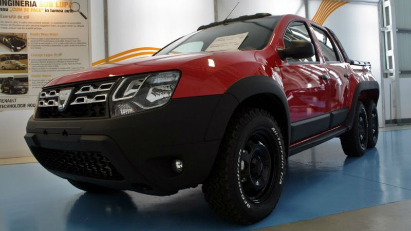 Dustruck Dacia Duster 6x6 Pickup