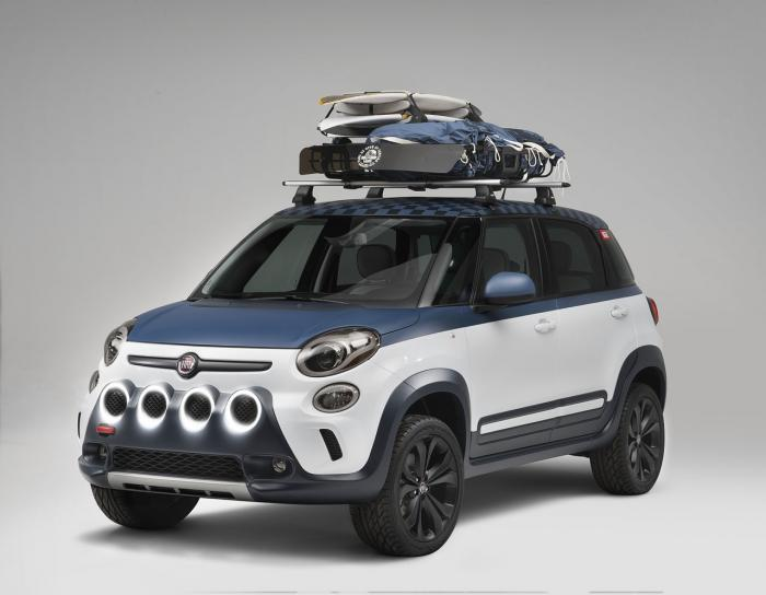 Fiat 500L Vans Concept At 2014 Vans US Open Of Surfing