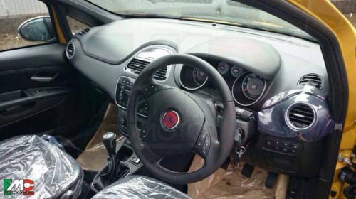 Fiat Punto Facelift First Pictures