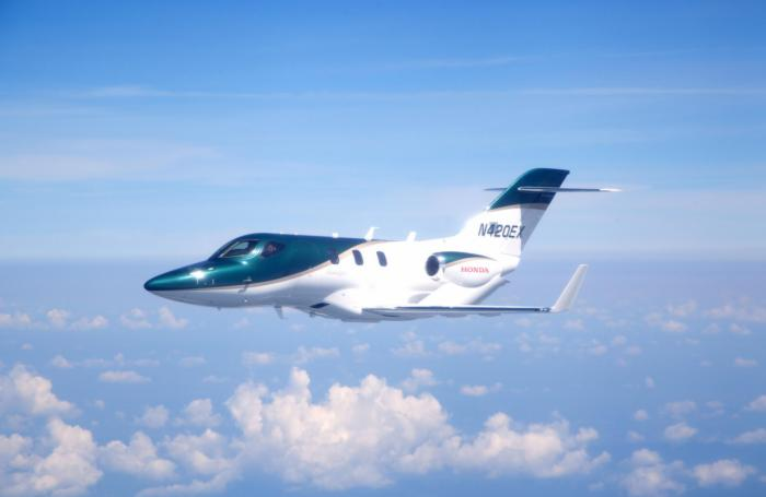 Honda Jet Soars To Sky For The First Flight