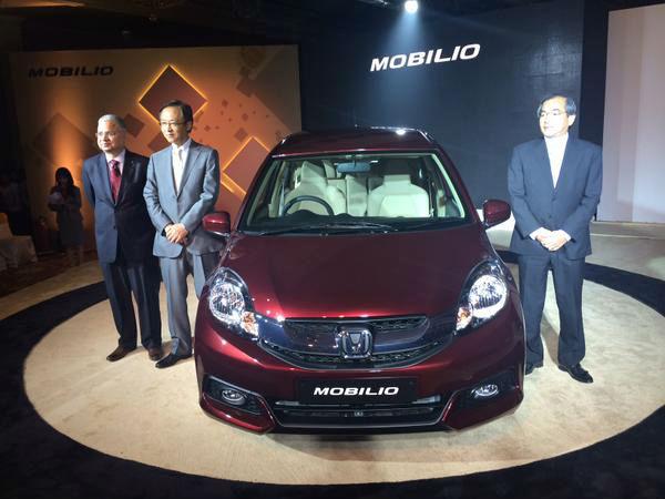 Honda Mobilio Launched In India