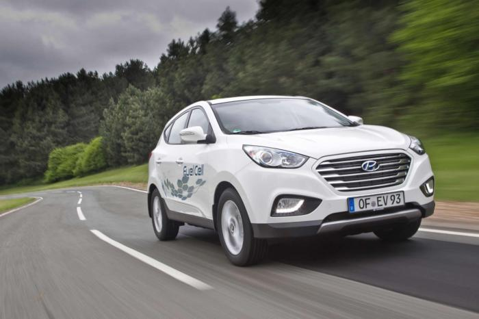 Hyundai ix35 Fuel Cell Creates Record For Longest Trip On Single Tank Of Hydrogen