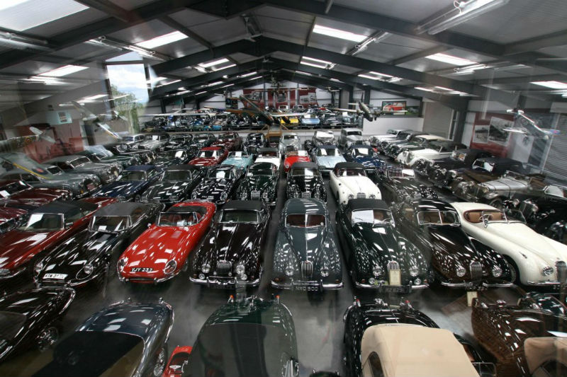 Jaguar Land Rover Buys Largest Privately Owned British Classic Car Collection