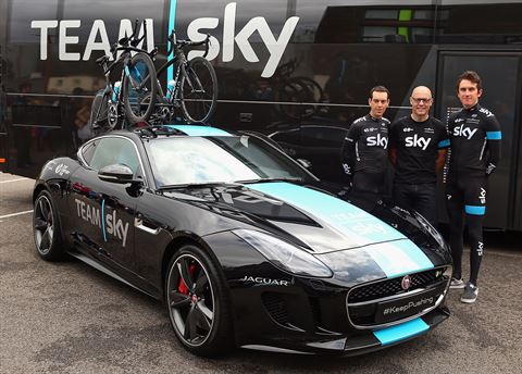 Jaguar Tour de France F-Type Unveiled
