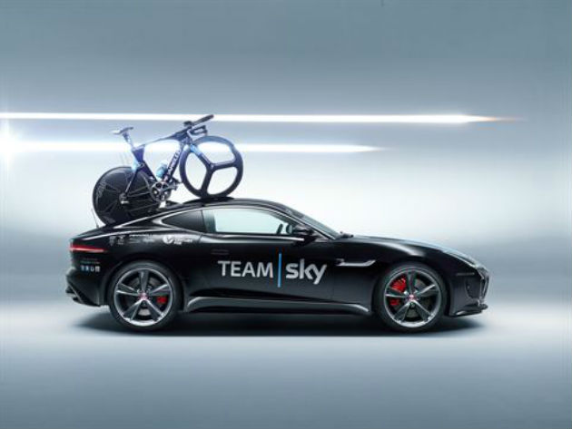 Jaguar F Type Coupe Tour De France Special Edition