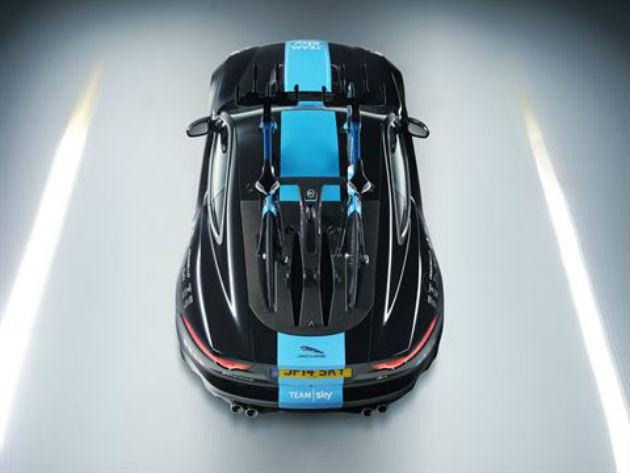 Jaguar reveals special Tour de France F-type coupe