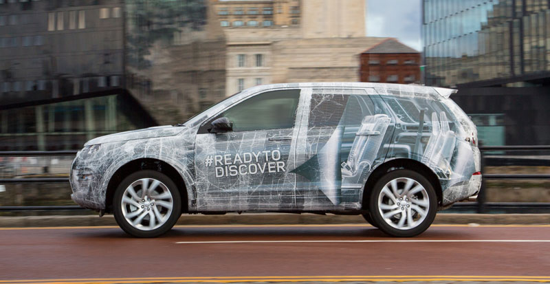 Land Rover Reveals Third Row Seating For Discovery Sport