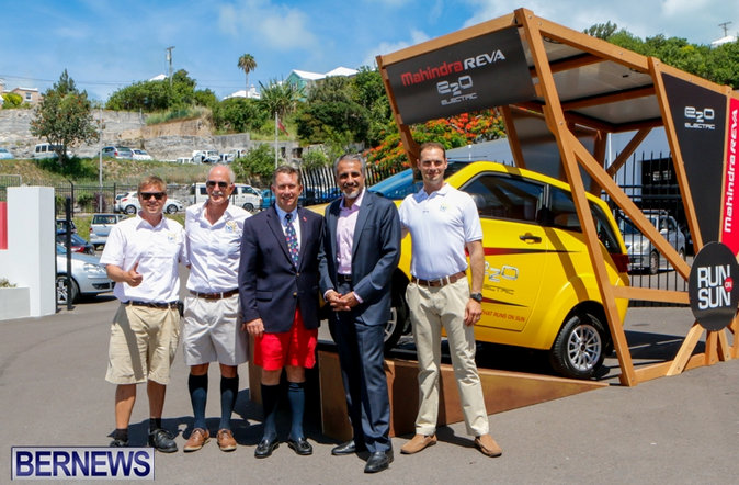 Mahindra e2o Launched In Bermuda
