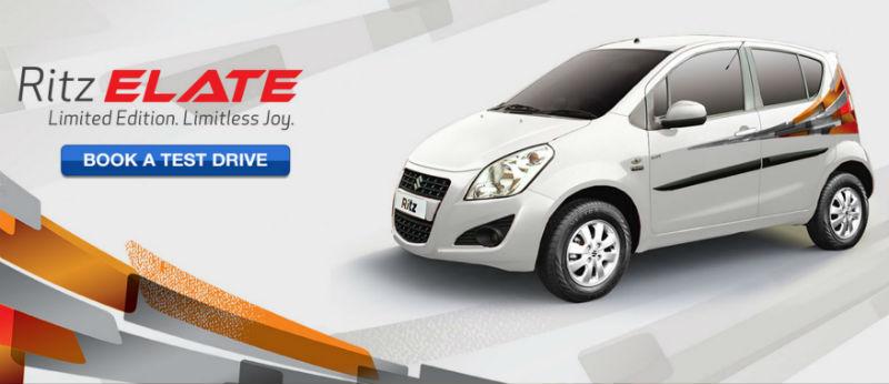 Maruti Suzuki Ritz Elate Edition Launched In India