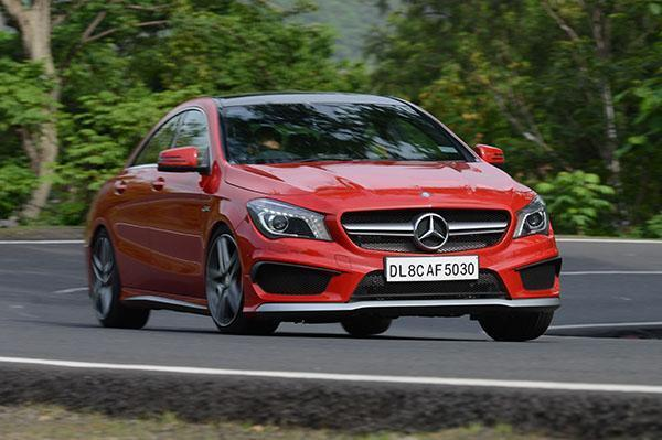 Mercedes-Benz CLA45 AMG Launched In India For Rs 68.5 Lakh Ex-Showroom Delhi
