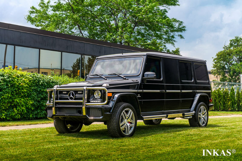 Mercedes-Benz G63 AMG Turned Into Luxury Tank By INKAS