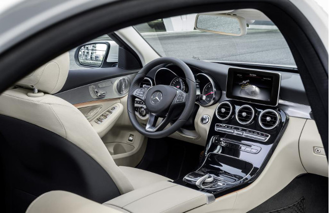 New Mercedes Benz C-Class interiors