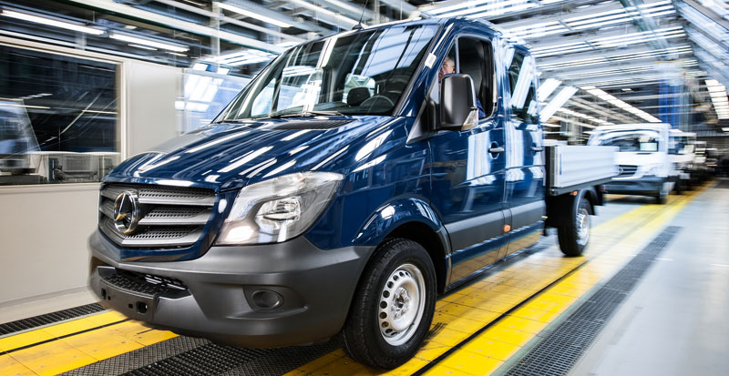 New Mercedes-Benz Sprinter Celebrates First Year of Production