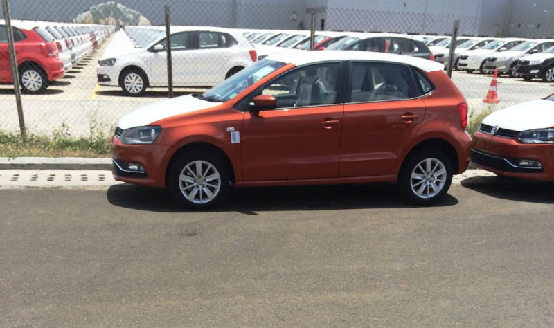 New Volkswagen Polo Spied in India Once Again