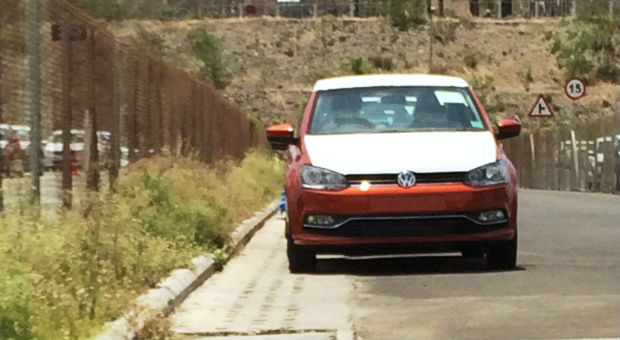 New Volkswagen Polo Spied in India