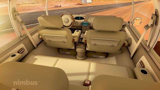 Nimbus e-Car interiors