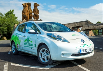 Nissan Leaf Roars Into Safari Service