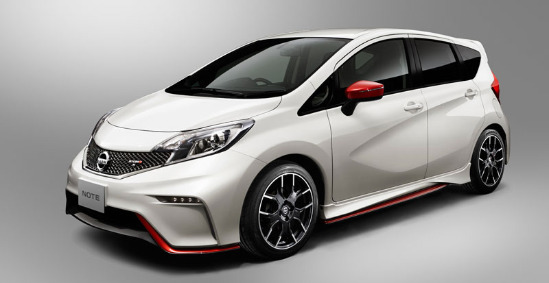 Nissan Note Nismo Unveiled