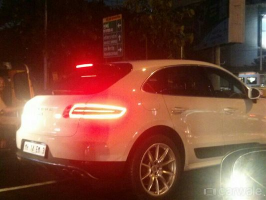 Porsche Macan Diesel S Spied In India