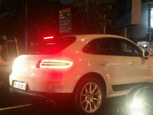 Porsche Macan Diesel S Spied In India