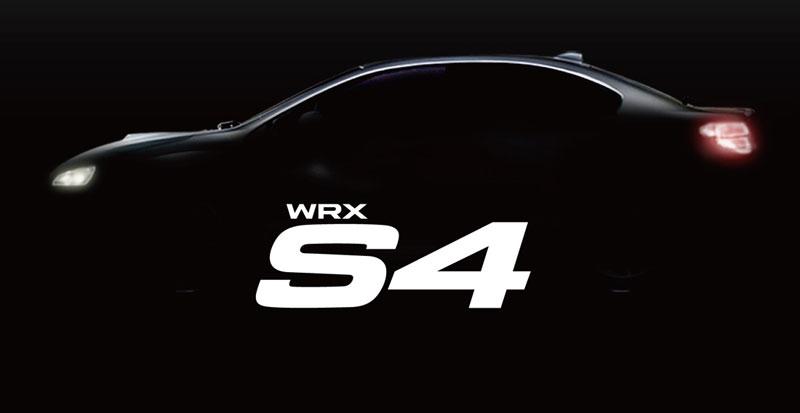 Subaru WRXS4 teaser