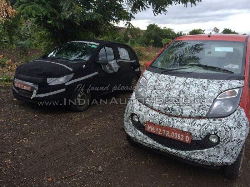 Tata Kite Hatchback Spied