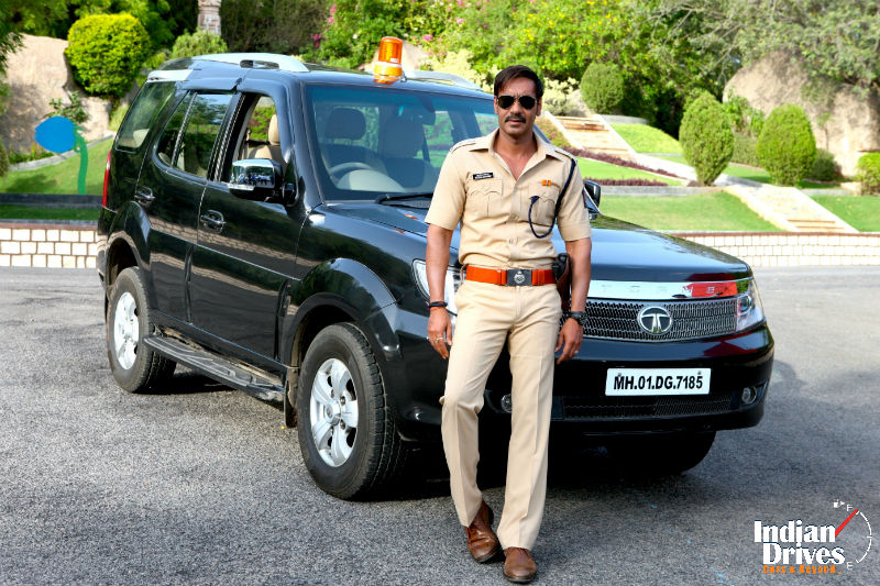 Tata Motors Cars Make An appearance In Singham Returns
