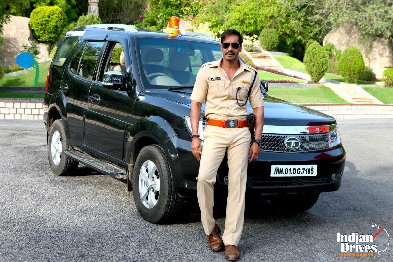 Tata Motors Cars Make An appearance In Singham Returns