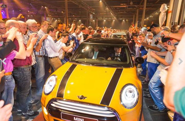 MINI Starts Production At VDL Nedcar: Dutch King Arrives For Inauguration
