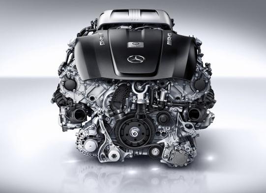Mercedes Details 4.0L Twin-Turbo V8 For AMG GT