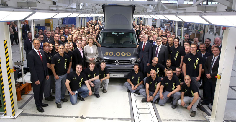 Volkswagen Commercial Vehicles: 50,000x Motoring Leisure Direct From The Factory