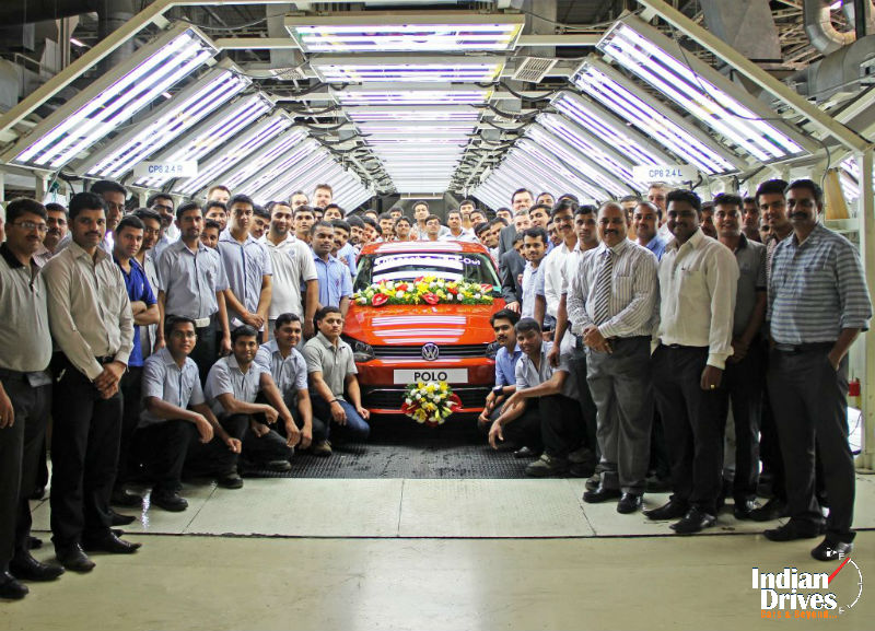 Volkswagen Pune Plant rolls out 400000th car