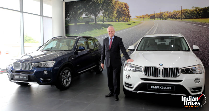 BMW X3 Facelift Launched In India