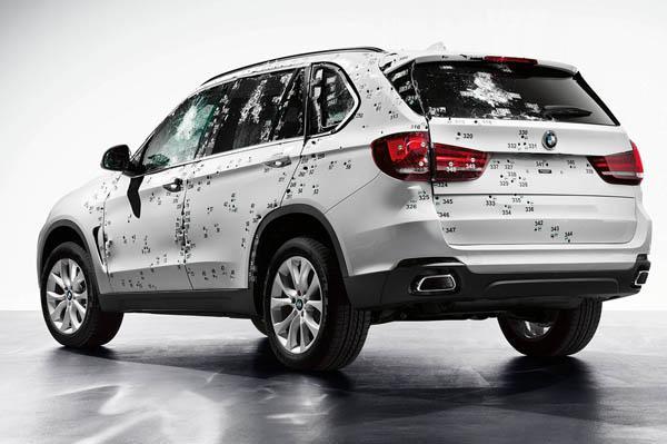 BMW X5 Security Plus Revealed