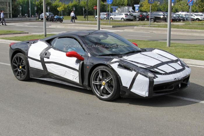 Ferrari 458 M Spied For First Time