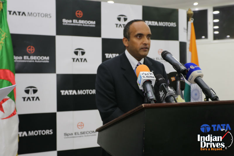 Tata Motor Enters Algeria With Passenger Cars Range
