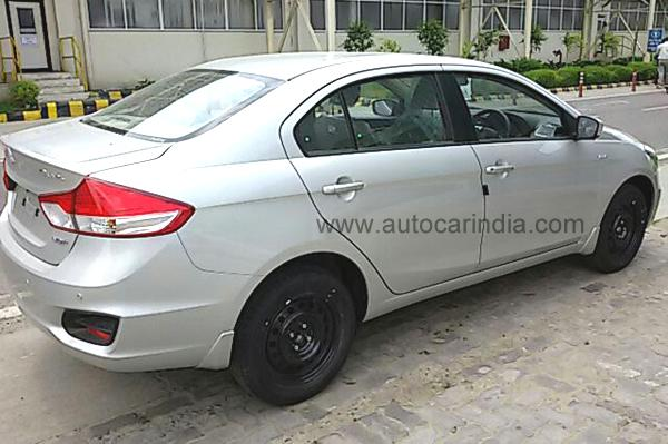 Maruti Ciaz Getting Ready For Launch