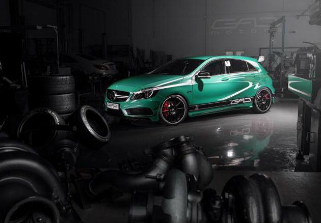 Mercedes-Benz A45 AMG With 430 PS Of Power From GAD Motors