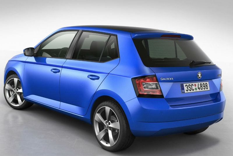 New Skoda Fabia Back View