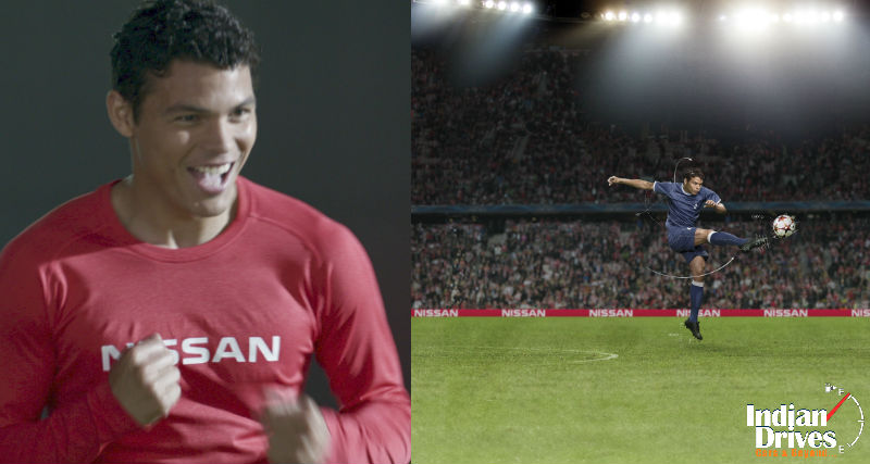 Nissan Signs Andres Iniesta And Thiago Silva As New Ambassadors For UEFA Champions League