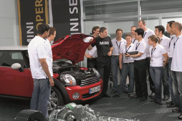 Tenth Anniversary Of BMW Group Training Academy In Unterschleißheim