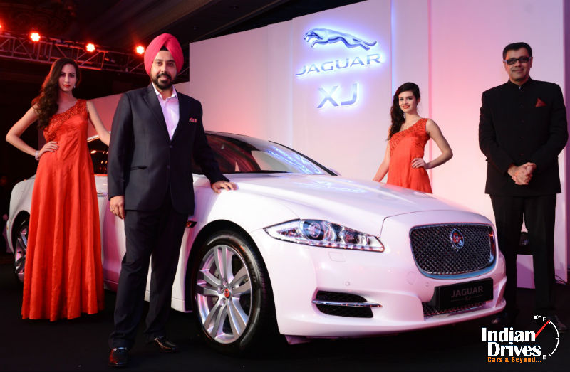 2014 Jaguar XJ Drives Into New Delhi
