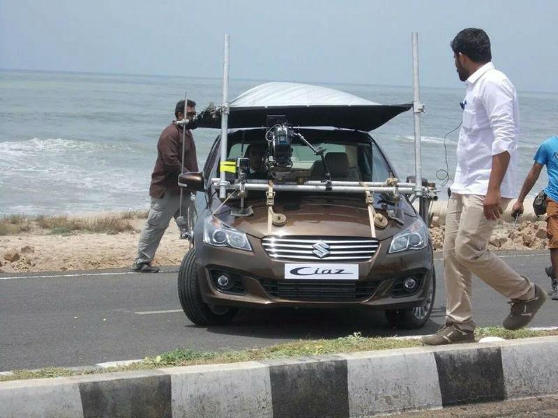 Ranbir Kapoor Rolled In For Maruti Ciaz TVC Spy-Shots