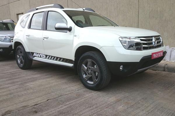 Renault Duster AWD India-Spec Details Revealed
