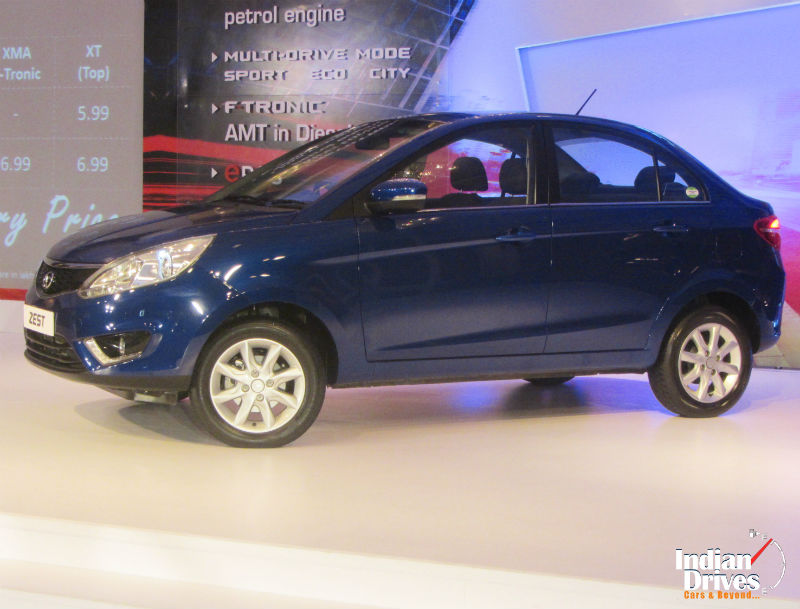 Tata Zest sedan launched at Rs 4.64 lakh