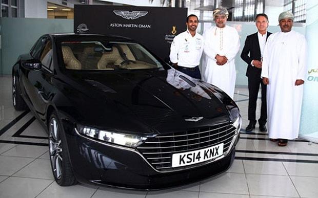 Aston Martin Lagonda Sedan In Middle East: Leaked Pictures