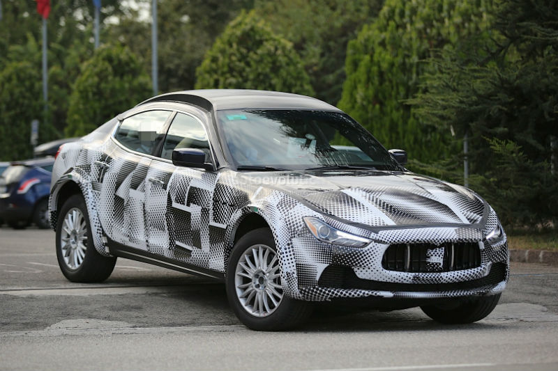 Maserati Lavante SUV Spy-Shots Appears