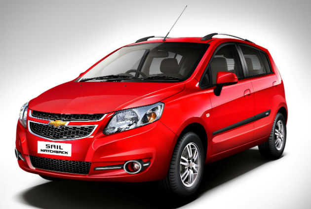 2014 Updated Chevrolet Sail Hatchback Launched In India
