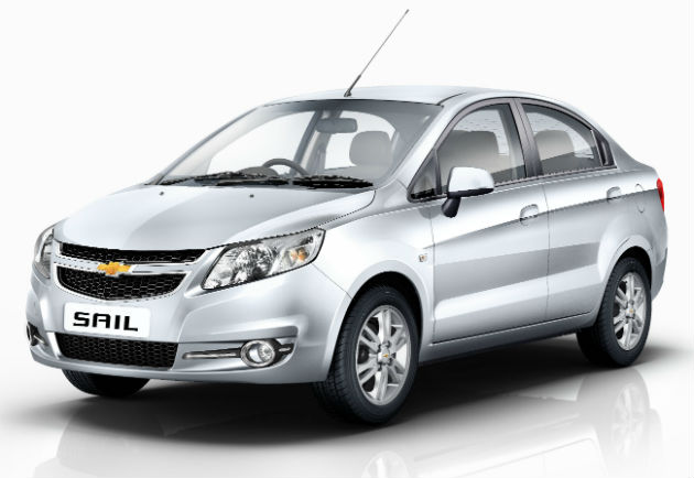 2014 Updated Chevrolet Sail Sedan Launched In India